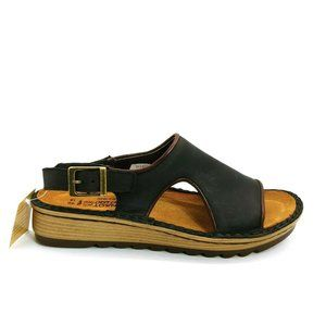 Naot Ficus Slingback Leather Wedge Sandals EUR 40